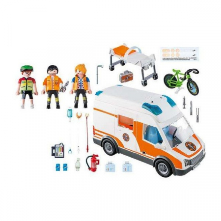 Playmobil Emergency Ambulance 4+1