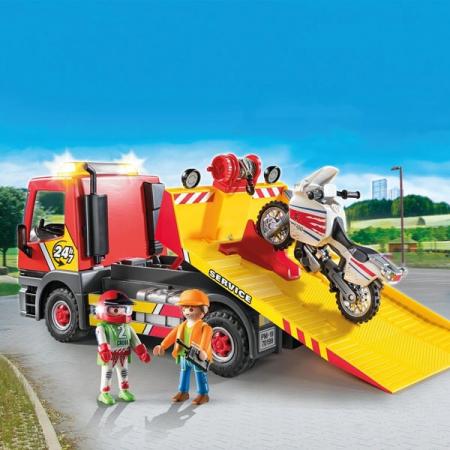Playmobil Vehicle Crane 42 piese 4+1