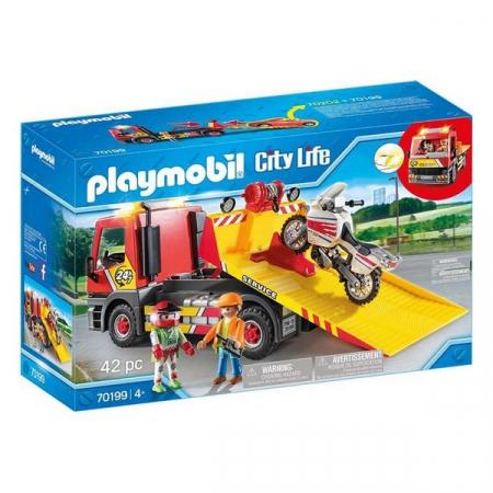 Playmobil Vehicle Crane 42 piese 4+0