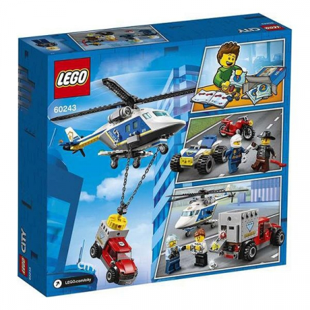 Playset Lego Police Helicopter Chase 5+2