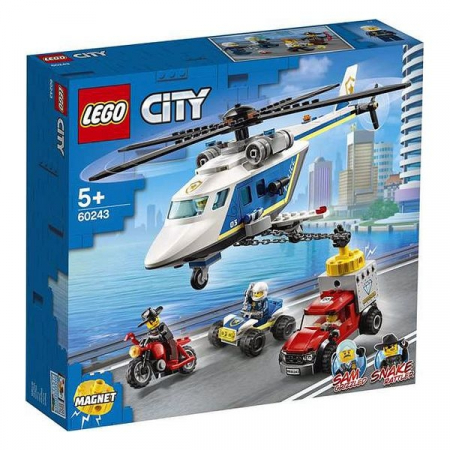 Playset Lego Police Helicopter Chase 5+0