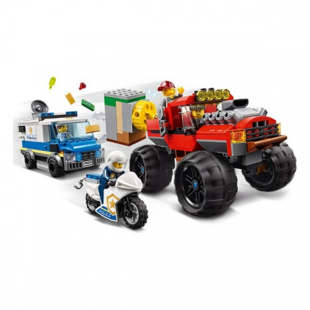 Playset Lego Police Monster Truck 5+1