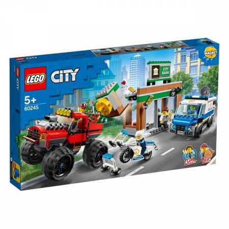 Playset Lego Police Monster Truck 5+0