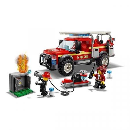 Playset Lego Fire Truck Intervention 201 piese 5+4