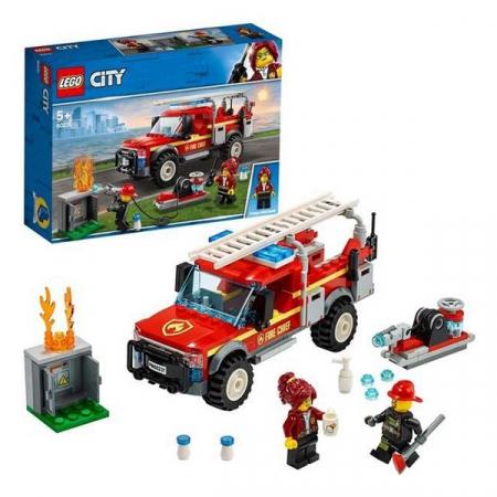 Playset Lego Fire Truck Intervention 201 piese 5+3