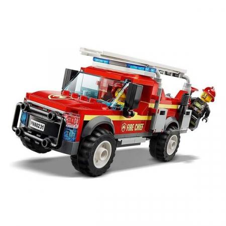 Playset Lego Fire Truck Intervention 201 piese 5+2