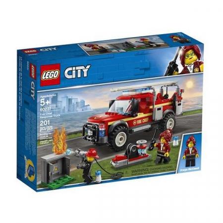 Playset Lego Fire Truck Intervention 201 piese 5+0