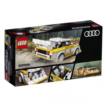 Playset Lego Audi Sport Quatro 7+2