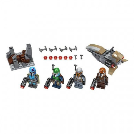 Playset Lego Star Wars Mandolarian 6+1