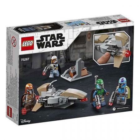 Playset Lego Star Wars Mandolarian 6+2