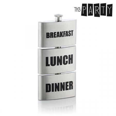 Plosca metalica Breakfast-Lunch-Dinner2