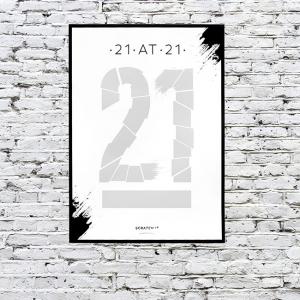 Poster razuibil 21 de lucruri de facut la 213