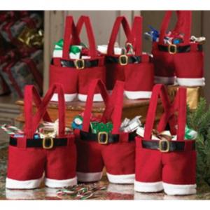 Punga cadou Santa's Pants5