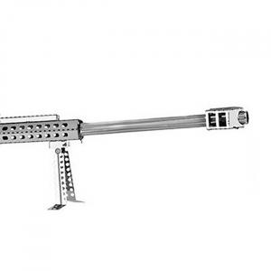 Puzzle metalic nano 3D - Arma cu luneta2