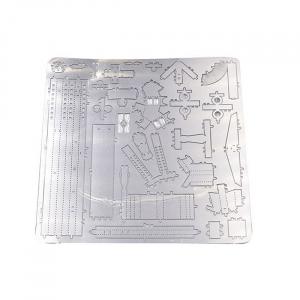 Puzzle metalic nano 3D - Arma cu luneta1