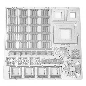 Puzzle metalic nano 3D - Big Ben [2]