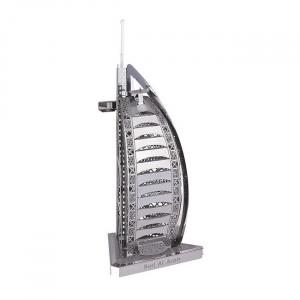 Puzzle metalic nano 3D - Burj al Arab0
