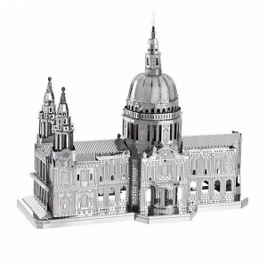 Puzzle metalic nano 3D - Catedrala St Paul0