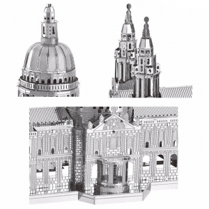 Puzzle metalic nano 3D - Catedrala St Paul1