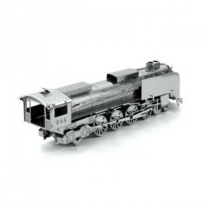Puzzle metalic nano  3D – locomotiva cu abur0