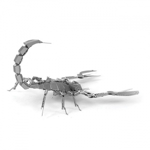 Puzzle metalic nano 3D - Scorpion3