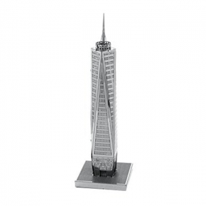 Puzzle metalic nano 3D - World Trade Center1