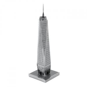Puzzle metalic nano 3D - World Trade Center0