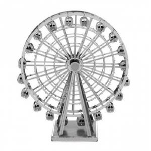 Puzzle nano metalic 3D - Roata Ferris0