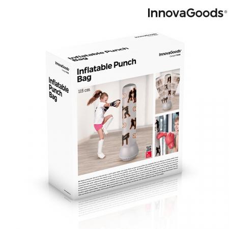 Sac de Box cu Picior Gonflabil pentru Copii 6+1