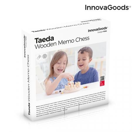 Sah pentru memorie din lemn Taeda 3+1