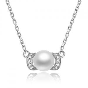 Set bijuterii argint rodiat Pearls3