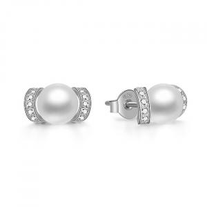 Set bijuterii argint rodiat Pearls2