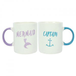 Set cadou 2 cani ceramice Captain Mermaid0