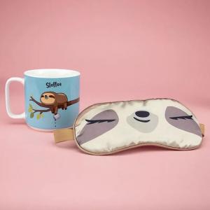 Set cadou cana si masca dormit Sloffee2