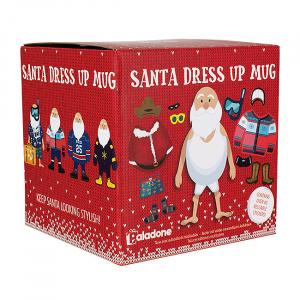 Set cana si stickere Santa Dress Up2