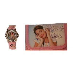 Set ceas si portofel Violetta1