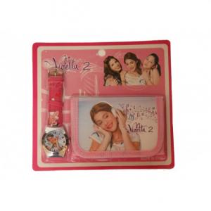 Set ceas si portofel Violetta2