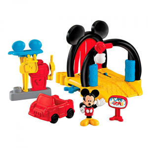 Set spalatorie auto Mickey Mouse 3+4