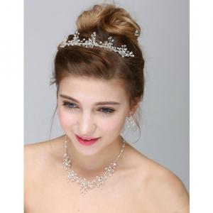 Set tiara, colier si cercei Dutchess [0]