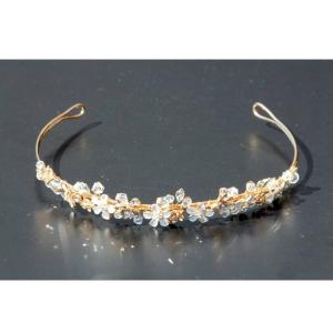 Set tiara, colier si cercei Gold Sparkle3