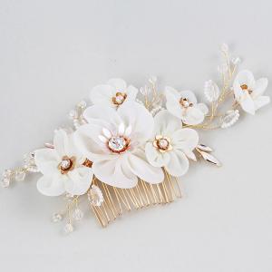 Tiara Agrafa Delicate Flower2