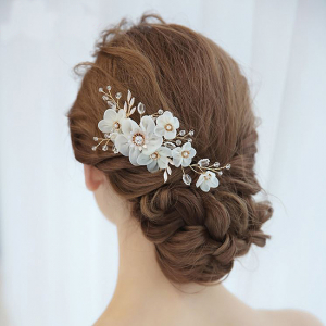 Tiara Agrafa Delicate Flower0