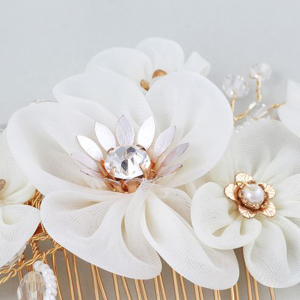 Tiara Agrafa Delicate Flower1