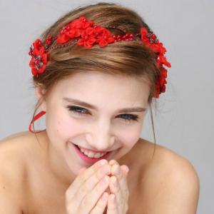 Tiara Red Flowers0