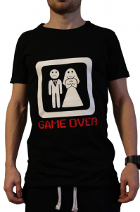 Tricou Game Over0