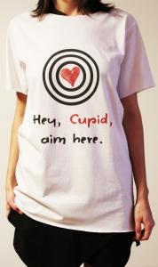 Tricou Hey Cupid - Pentru Ea [2]