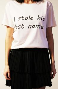 Tricou I stole his last name [0]