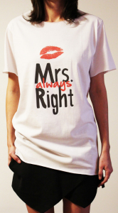Tricou Mrs Always Right3