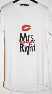 Tricou Mrs Always Right4