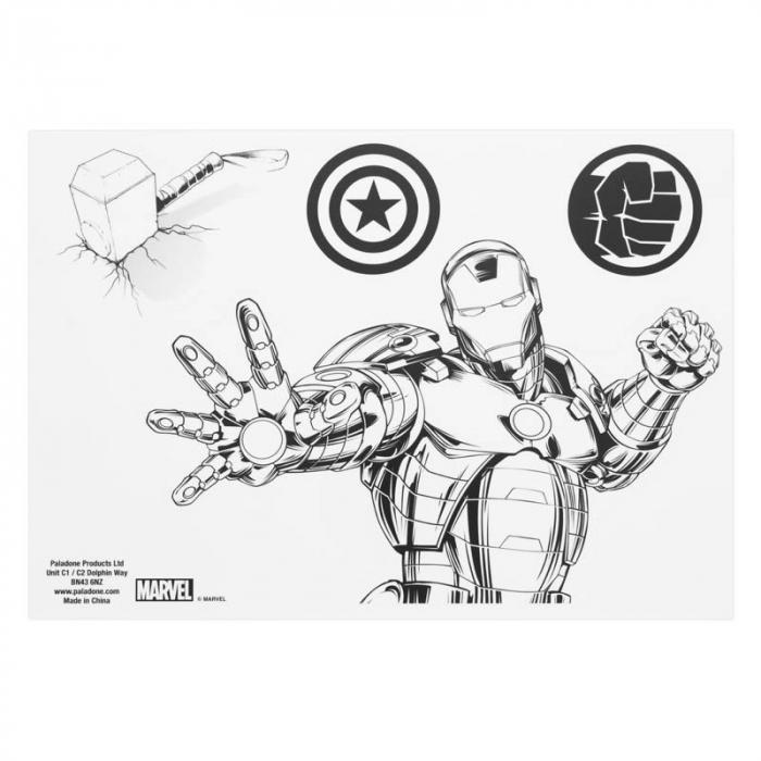 Abtibilduri pentru gadgeturi Avengers [4]